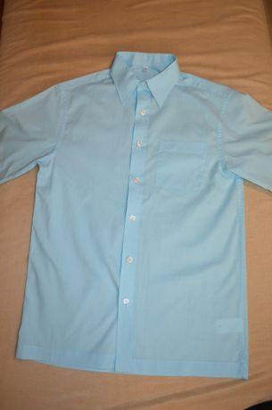 Рубашка на короткий рукав в состоянии новой, 158 см, 13 лет