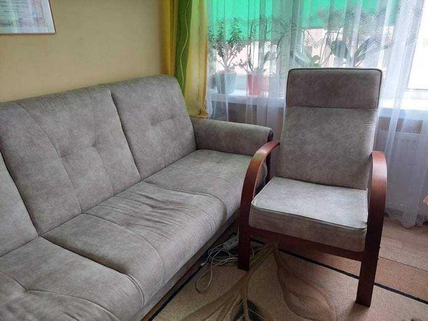 Kanapa + fotele stan idealny