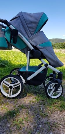 Wózek Bebetto Murano 2018 2w1 mięta turkus spacerówka gondola