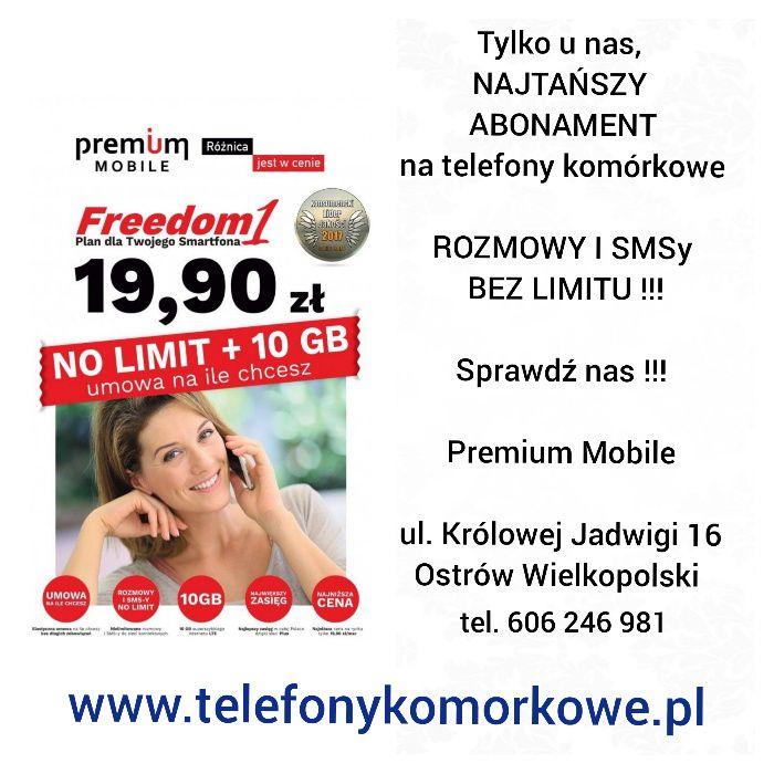 PREMIUM MOBILE najtańszy abonament NO LIMIT OSTRÓW Wlkp Ostrów Wielkopolski - image 1