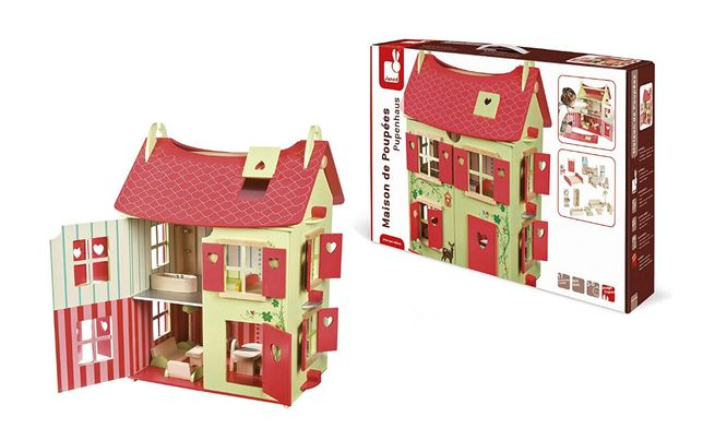 Domek drewniany Janod J06585
