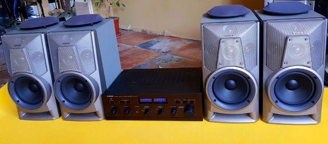 УсилительYamaha CA-V2 Колонки Sony SS Музыкальный центр Акустика