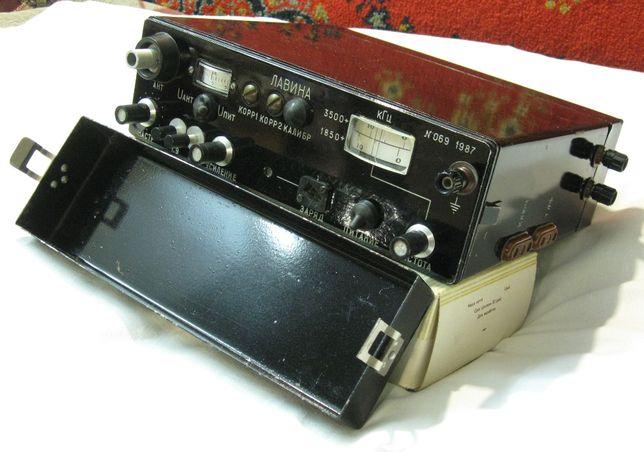 Двух диапазонный трансивер «Лавина» #1