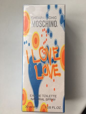 Туалетная вода Moschino I love love