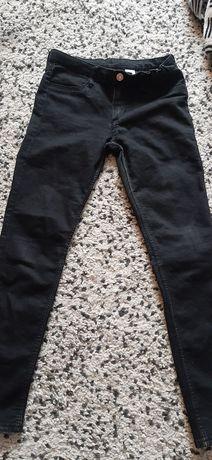 jeansy dla dziewczynki rozmiar 146