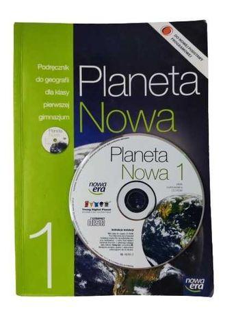 Planeta Nowa 1 Geografia podręcznik + CD