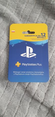 Playstation plus 365 dni! Ps plus 12 miesięcy! PS4 I PS5