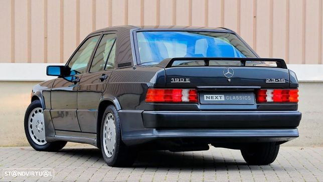 Aileron, lip, spoiler traseiro Mercedes classe E 190 (W201) 85-93 16V 2.3 LOOK em fibra de vidro