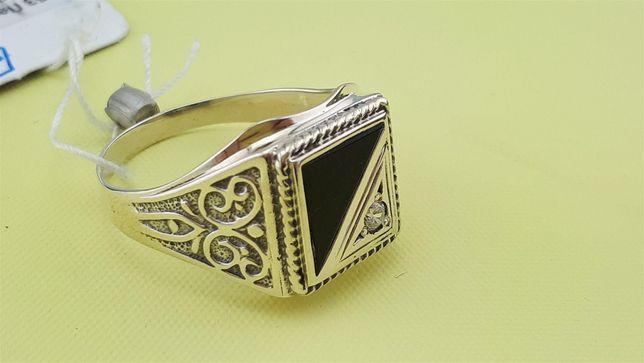 АКЦИЯ! Серебряная печатка. 925°, 6,7 грамм. Мужское кольцо, перстень