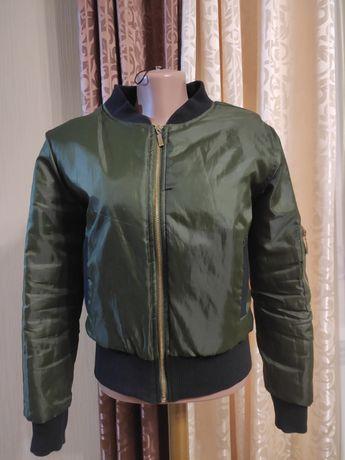 Куртка, бомпер, демисезонная короткая куртка, ветровка