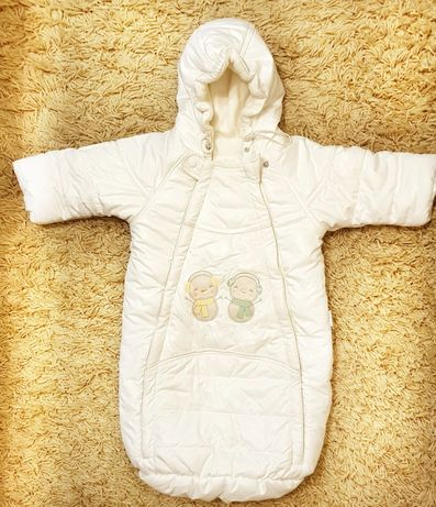 Дитячий зимовий комбінезон 0-6 місяців
