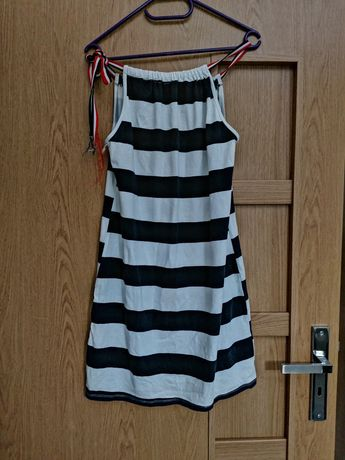 Sukienka letnia plażowa paski