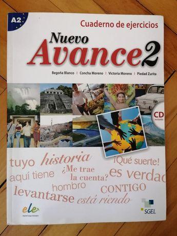 Nuevo Avance 2, cuaderno de ejercicios, zeszyt ćwiczeń