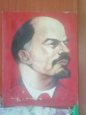 Портрет Ленина маслом