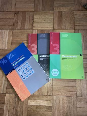 Podręczniki i zbiór zadań matematyka 3 klasa szkoly średniej