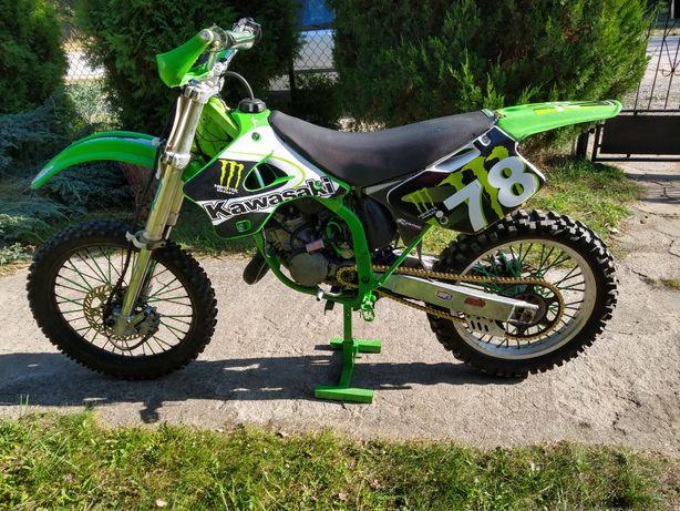 Full cross Kawasaki KX 125