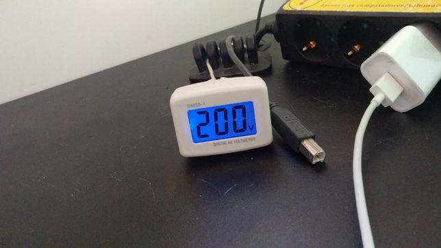 Medidor voltagem