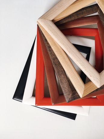 Рамки з дерева фарбовані гуртом (опт)