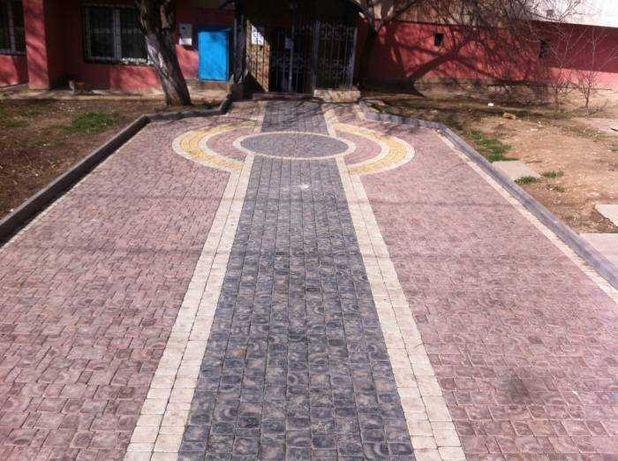 Полный комплекс услуг по укладки тротуарной плитке