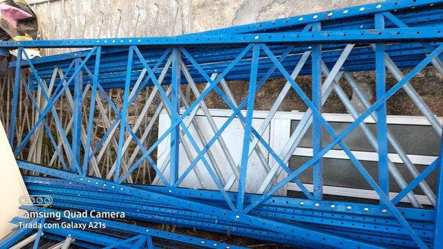 estantes metálicas prateleiras carga pesada