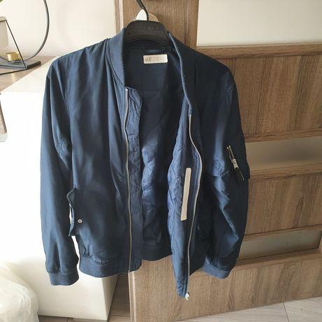Kurtka H&M rozmiar 158, lekko pikowana,na jesień