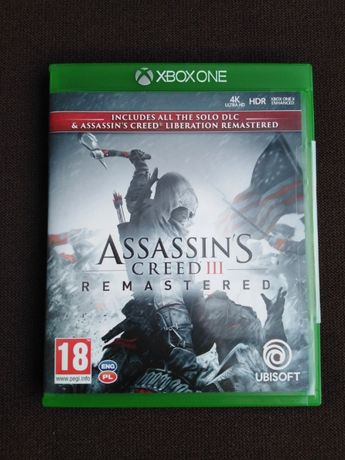 Assassin's Creed III Remastered + Liberation Remastered Xbox One