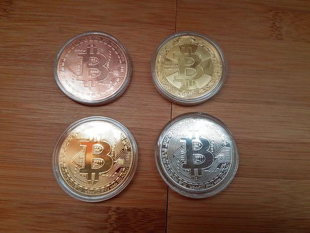 Биткоин Bitcoin 2017 год монет коллекционные btc