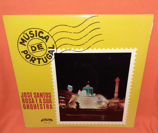 Disco Vinil-José Santos Rosa e sua Orquestra