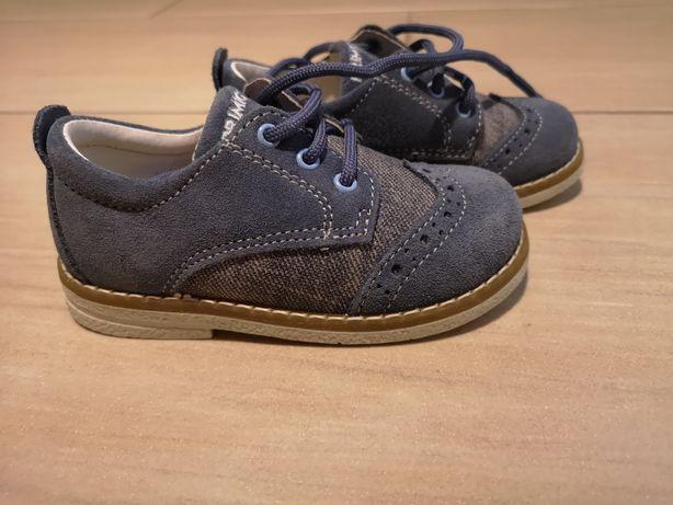 Nowe r. 22 Primigi buty półbuty mokasyny dziecięce