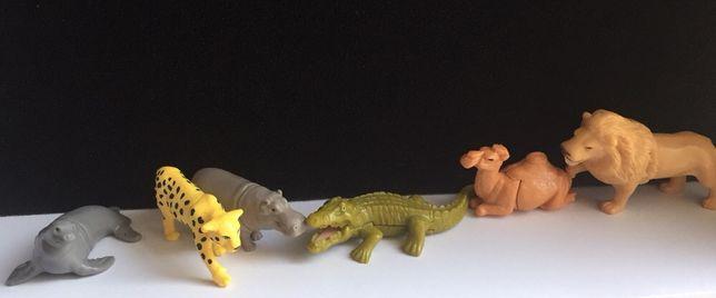 Киндер ландрин игрушки Животные Африки фигурки