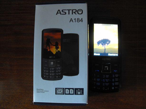 Телефон Astro A 184(повербанк 4500 mAh) 2019 год