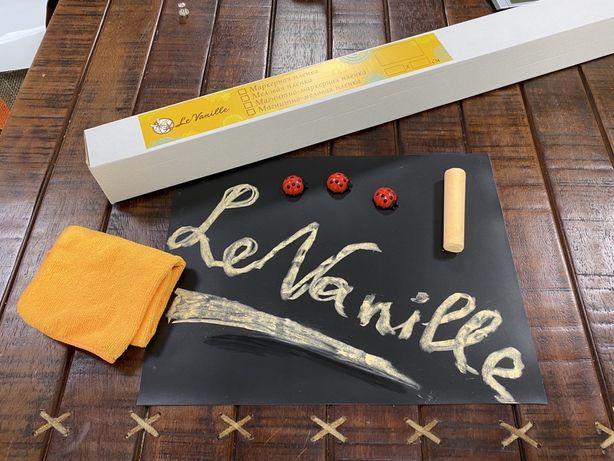 Флипчарт, Меловая пленка, Меловые обои, Le Vanille 1,2 м любой размер