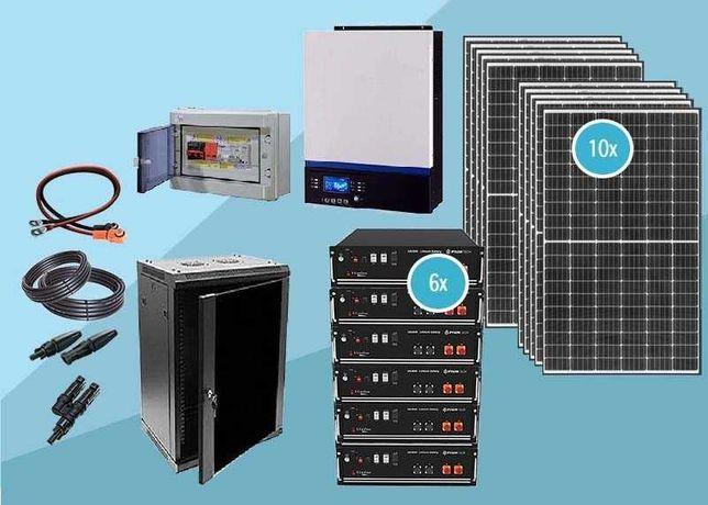 kit solar de lítio L8 24 kwh dia pylontech 21,3 kwh 80% DOD