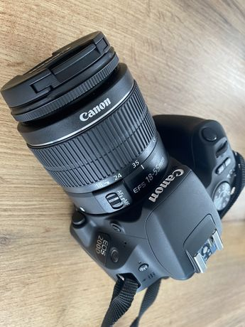 Canon EOS 200D czarny + 18-55mm DC III nowy + Sandik 256 GB