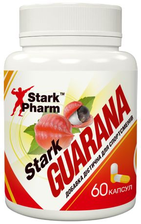 Stark Guarana 300 мг 60 таб (где 150 мг кофеин, гуарана) Киев магазин