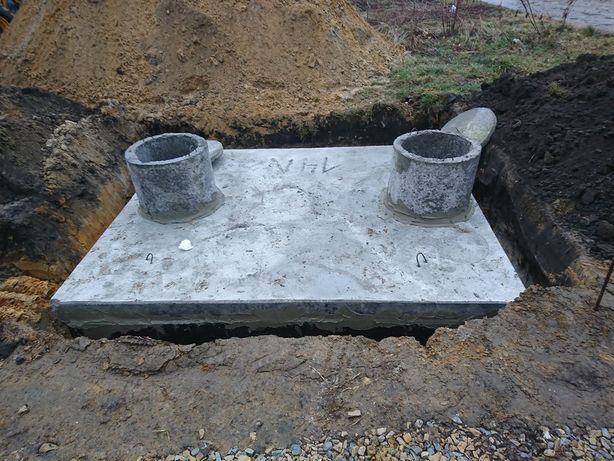 Szamba szambo betonowe piwniczki zbiorniki na wodę Kraków Tarnów Tychy