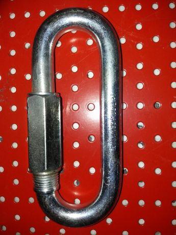 Ogniwo skręcane 16mm szekla złączka karabinczyk szekle łącznik