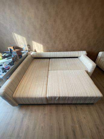 Продам диван и пуфик