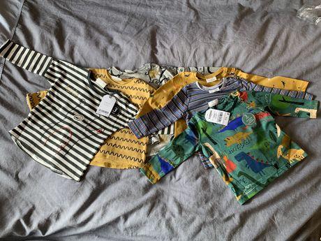 Bluzeczki dla chlopca  nowe z firmy NEXT