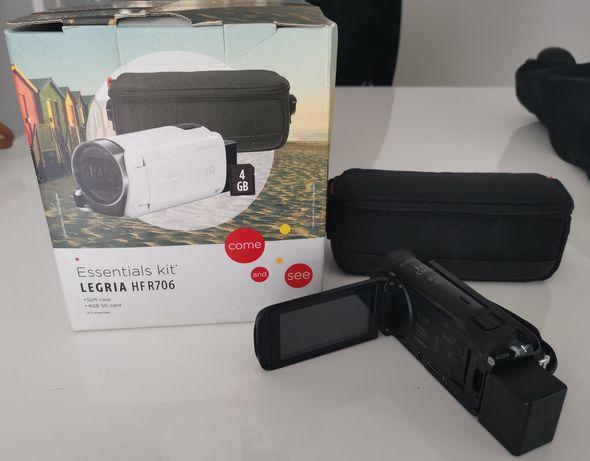 Máquina filmar Canon