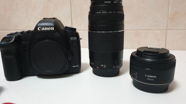 Canon 5d mark ii em muito bom estado + lentes