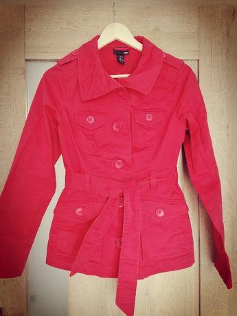 Płaszczyk kurtka trencz XS H&M