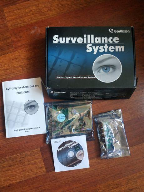 Surveillance System GeoVision GV-600/4 PCI,4x wideo, 1x audio, OKAZJA