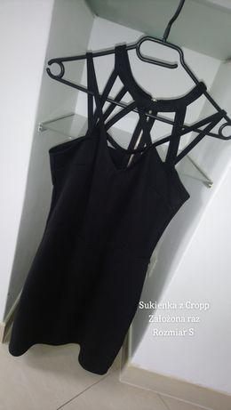 Sukienka mała czarna Cropp - rozmiar S