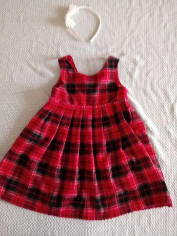 Sukienka świąteczna 104-122