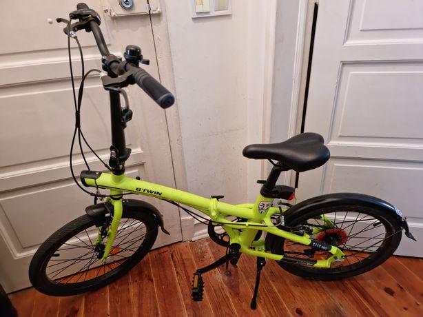 Bicicleta dobrável Decathlon Tilt 500 alumínio