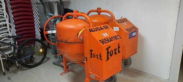 Aluguer de Betoneiras monofasicas de  180 litros novas e usadas.
