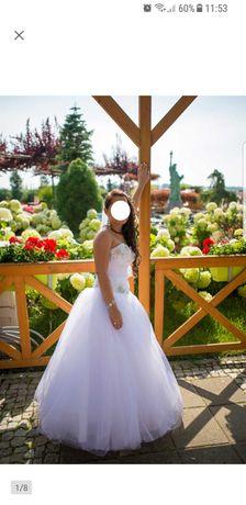 Sprzedam suknię ślubną IGAR r.36