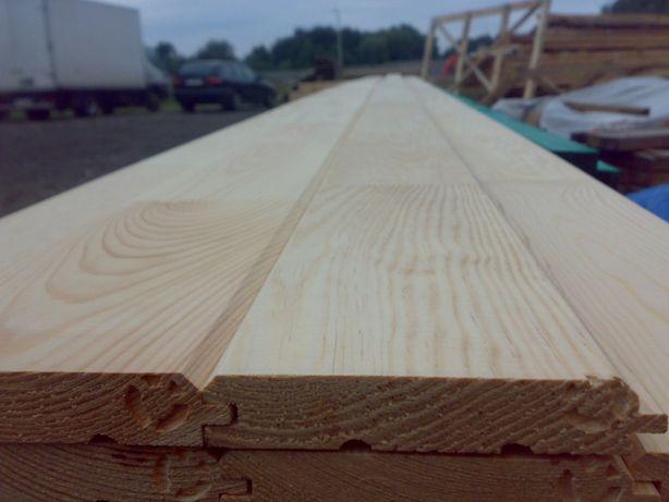 Skład drewna ecowoodpolska Deska sosnowa skandynawska klejona b/sęczna