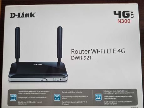 D-Link Router Wi-Fi LTE 4G DWR- 921